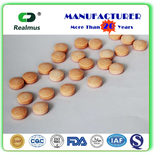 OEM Manufacturer Supplement RHTVI-VC0200 Vitamin B Tablets china supplier